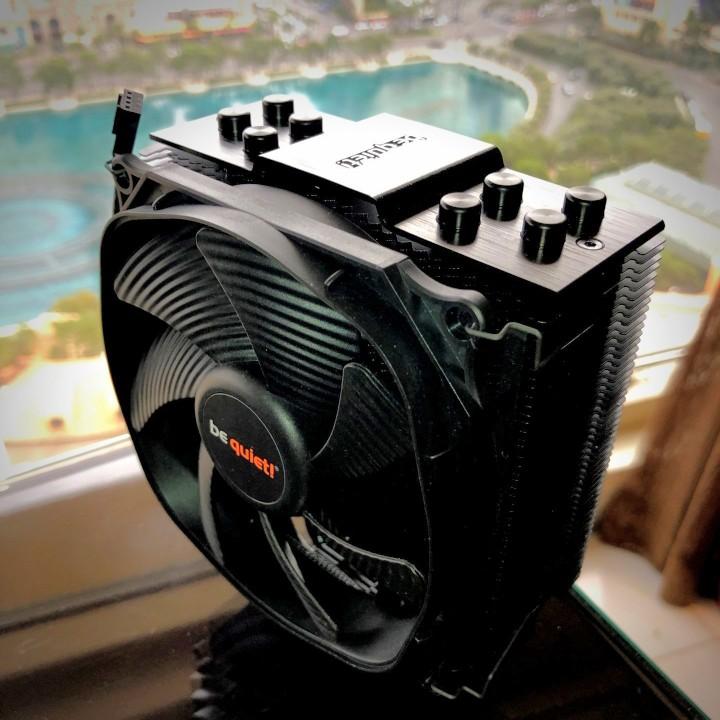 be quiet! Dark Rock Slim CPU Cooler, Shadow Wings 2 and Dark Wings 2 Fans