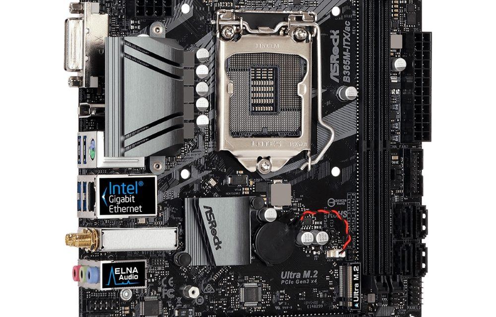 ASRock Preparing Budget Intel B365M-ITX/ac Mini ITX Motherboard - PC