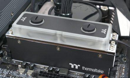 Splish splash, my RAM was taking a bath!  It's brand new from Thermaltake