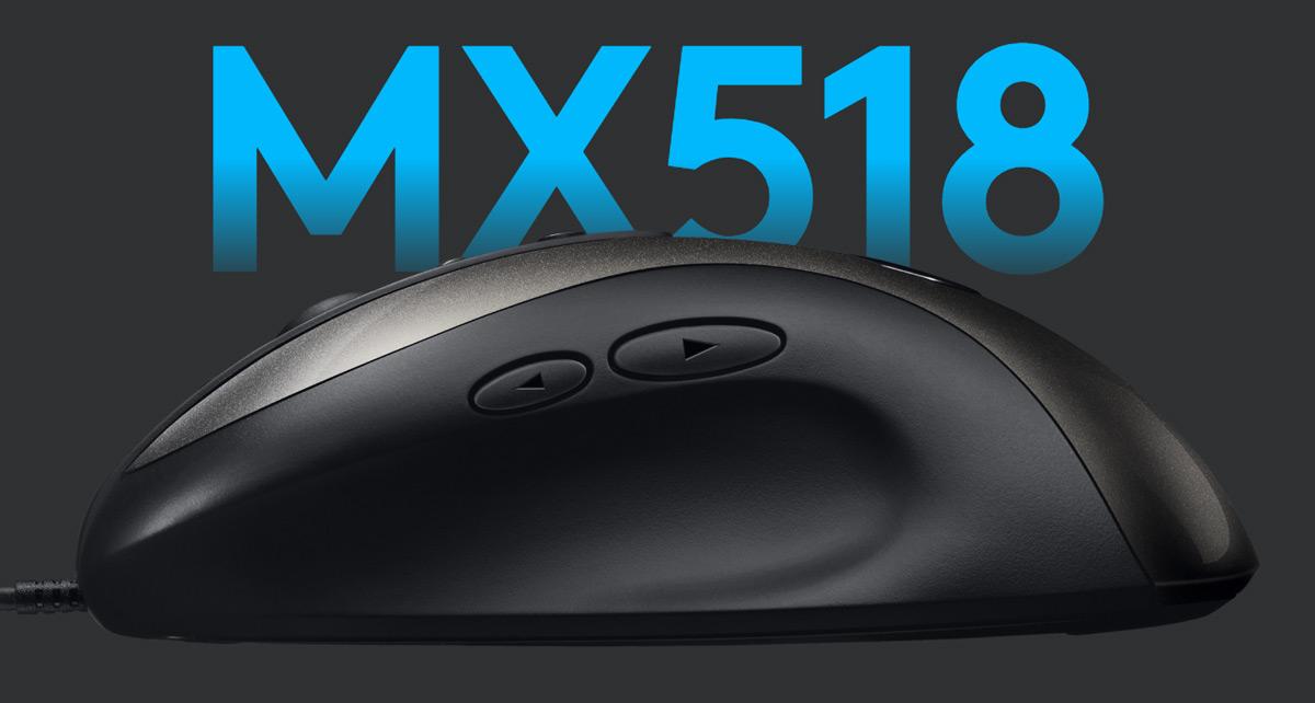 Logitech Is Bringing Back the Beloved MX518 Gaming Mouse