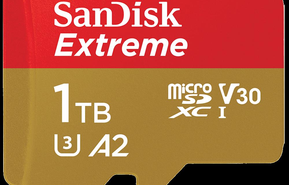 MWC: SanDisk Announces 1TB UHS-I MicroSDXC Card With Western Digital Flash