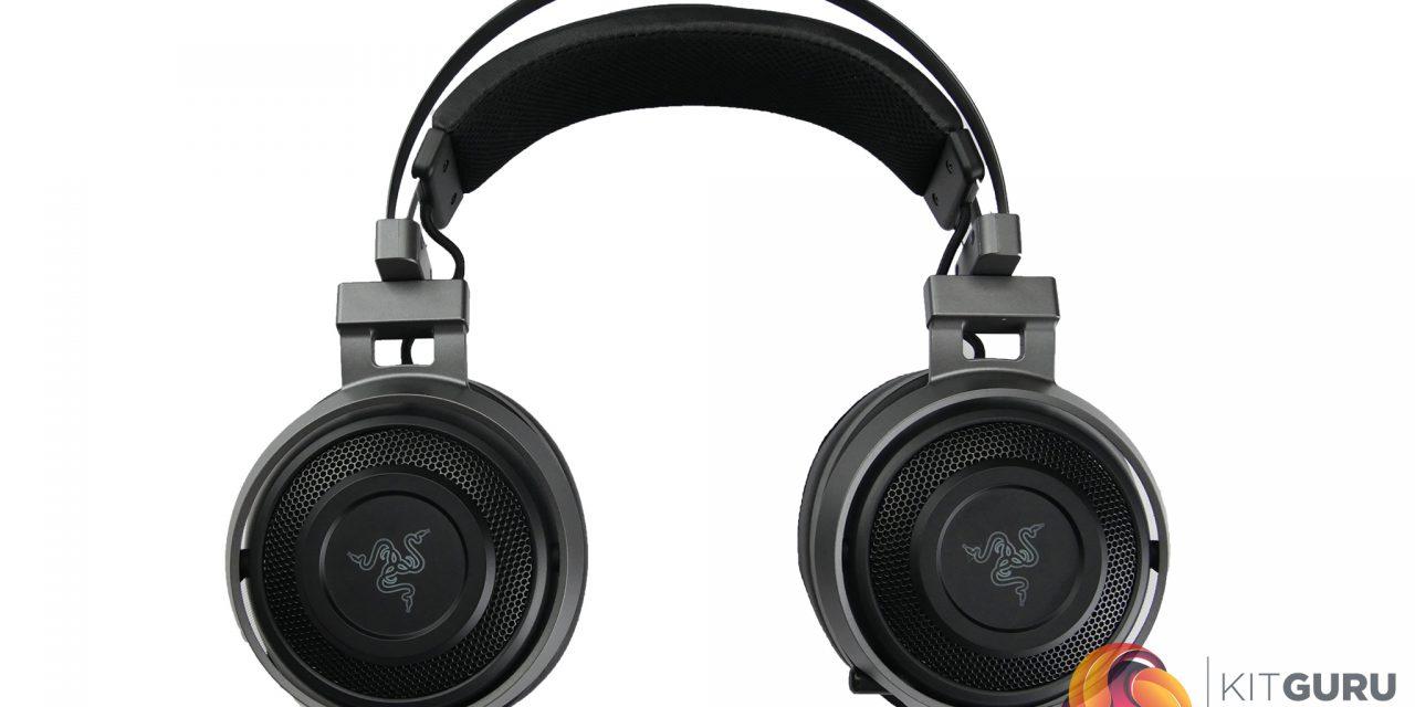 Razer Nari Ultimate THX Wireless Chroma, like a musical boot to the head