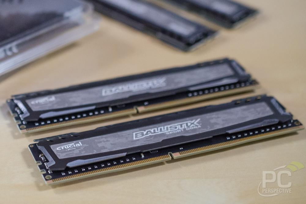 Crucial Ballistix Sport LT DDR4-3200 Desktop Memory Review - PC