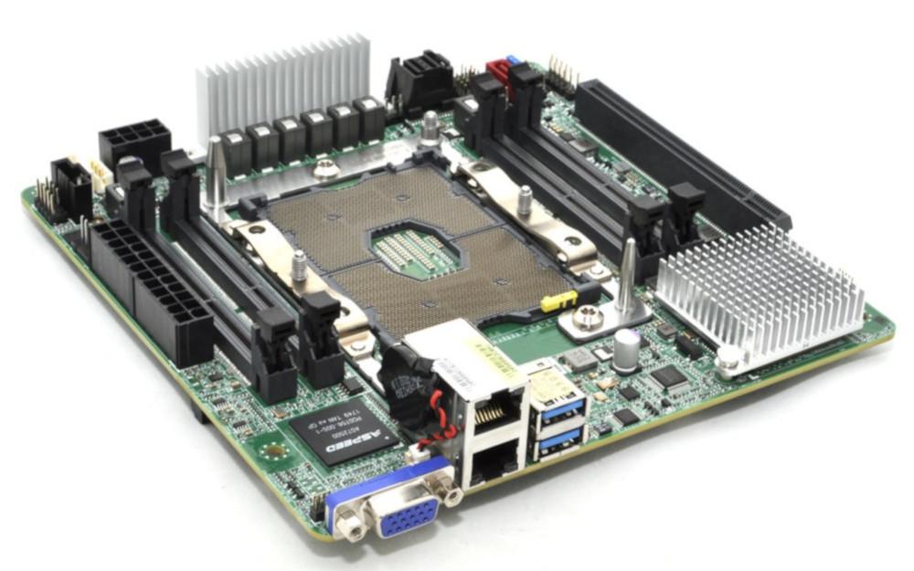ASRock Launches EPC621D4I-2M Mini-ITX Motherboard for Intel Xeon LGA-3647