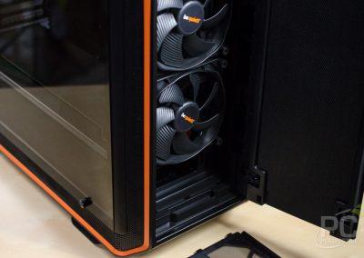 be quiet dark base 900 v2 front fans