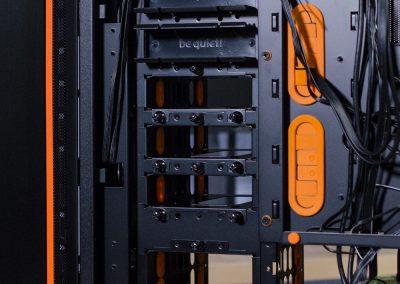 be quiet dark base 900 v2 hdd storage rear