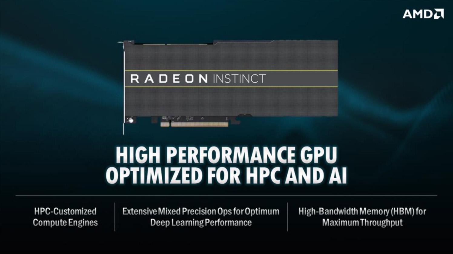 World's Fastest Supercomputer Will be Powered by AMD EPYC, Radeon Instinct - Processors 3