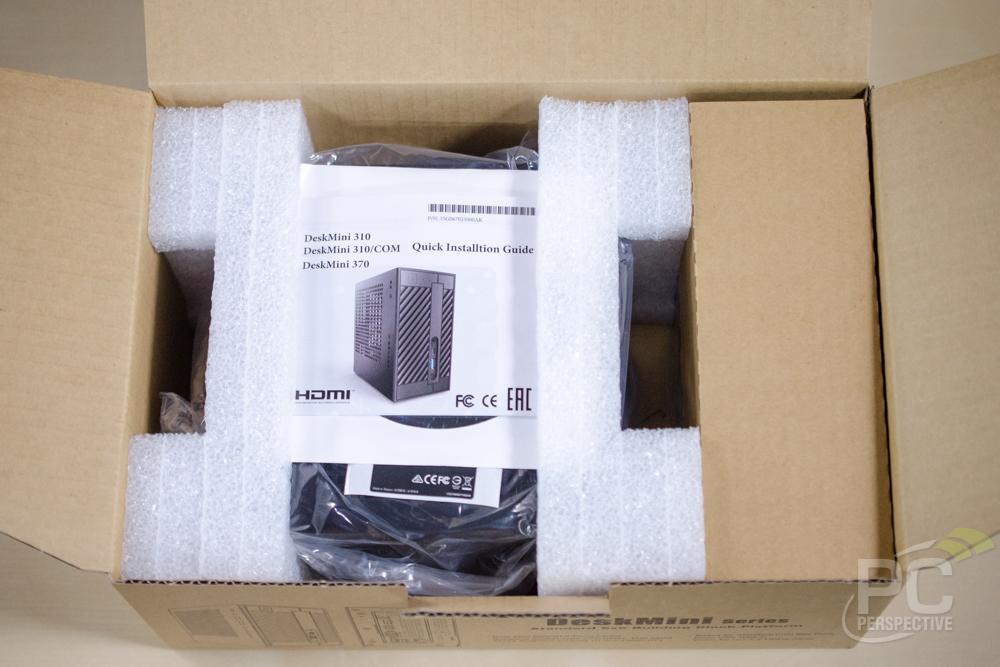 ASRock DeskMini 310 Unboxing