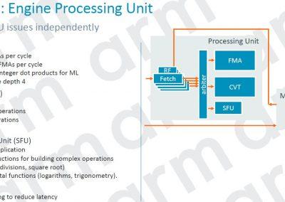 Mali G77 Engine Processing Unit