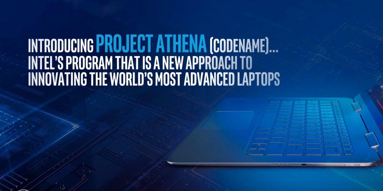 Intel Announces 'Project Athena' Certification Initiative for Advancing Laptop Design