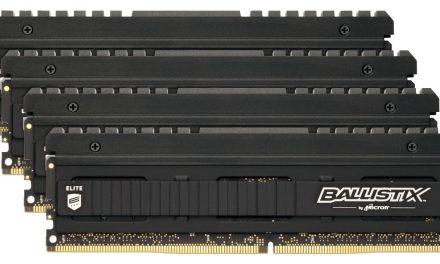 Go Ballistix With A New DDR4-3600 Kit