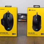 Gaming Mice Review: Corsair Nightsword RGB & Corsair M55 RGB Pro
