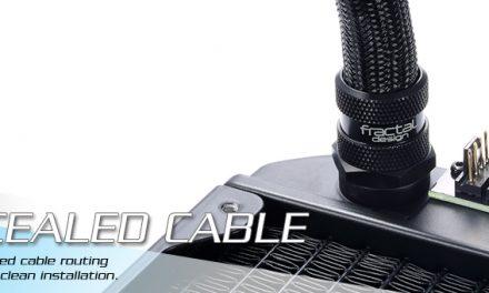 Fractal Design Updates Their Blackout Series Of Watercoolers