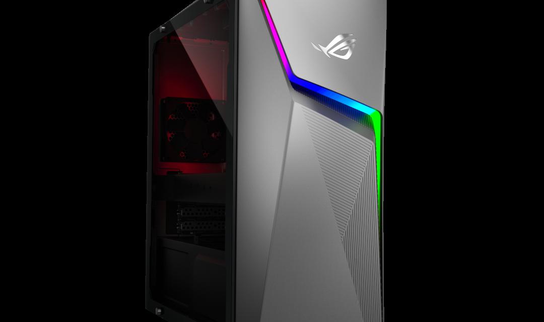 ASUS Announces New AMD Ryzen-Powered Gaming Machines