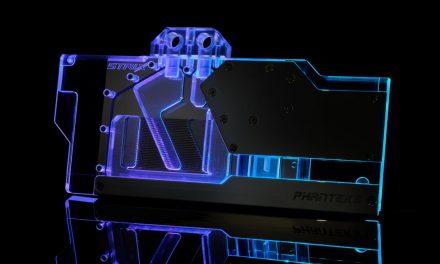 Phanteks Announces Glacier G2070 Strix Waterblock for ASUS GPUs