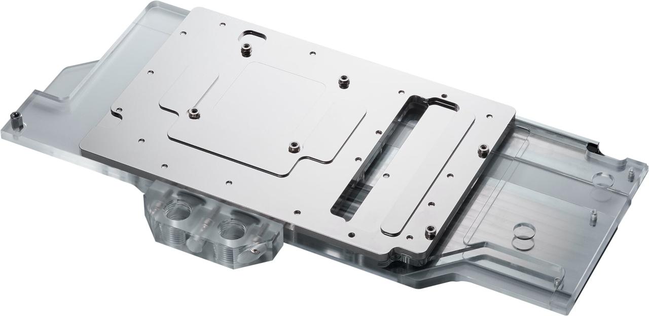 Phanteks Announces Glacier G2070 Strix Waterblock for ASUS GPUs - Cases and Cooling  2