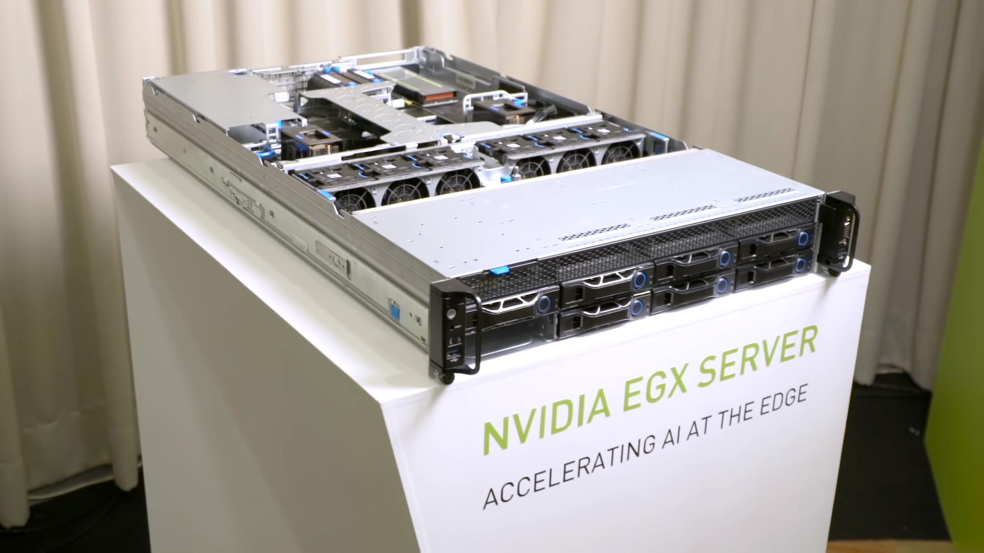 Kết quả hình ảnh cho Nvidia EGX
