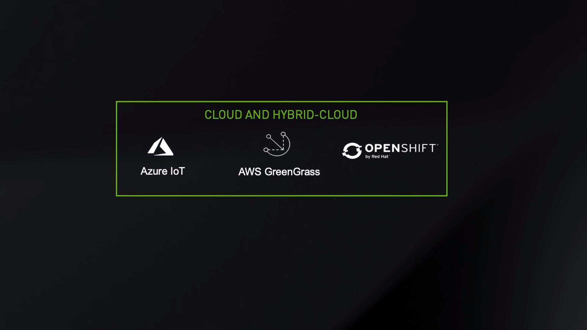 NVIDIA EGX Cloud Support