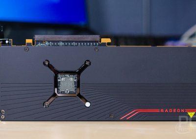 AMD Radeon RX 5700 XT Backplate