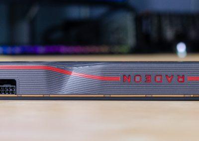 AMD Radeon RX 5700 XT Side