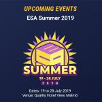 ESA Summer 2019 Begins Saturday!