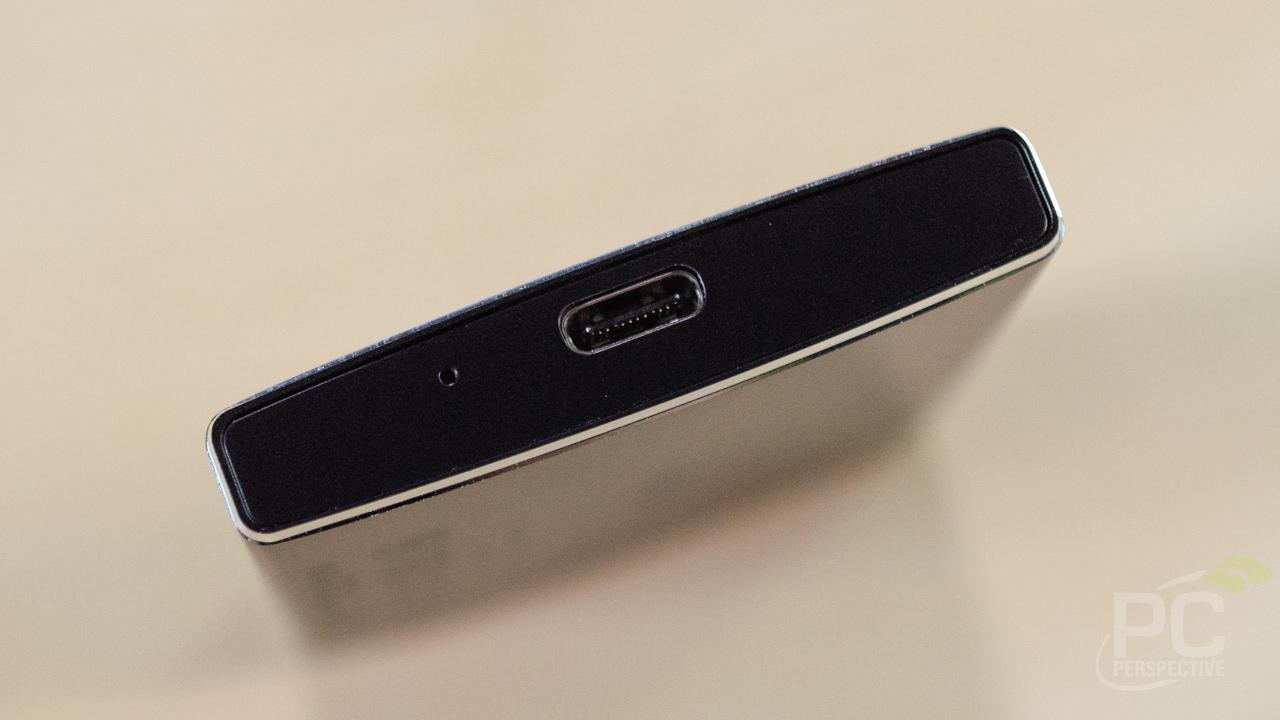 Lexar SSD SL100 Side USBC