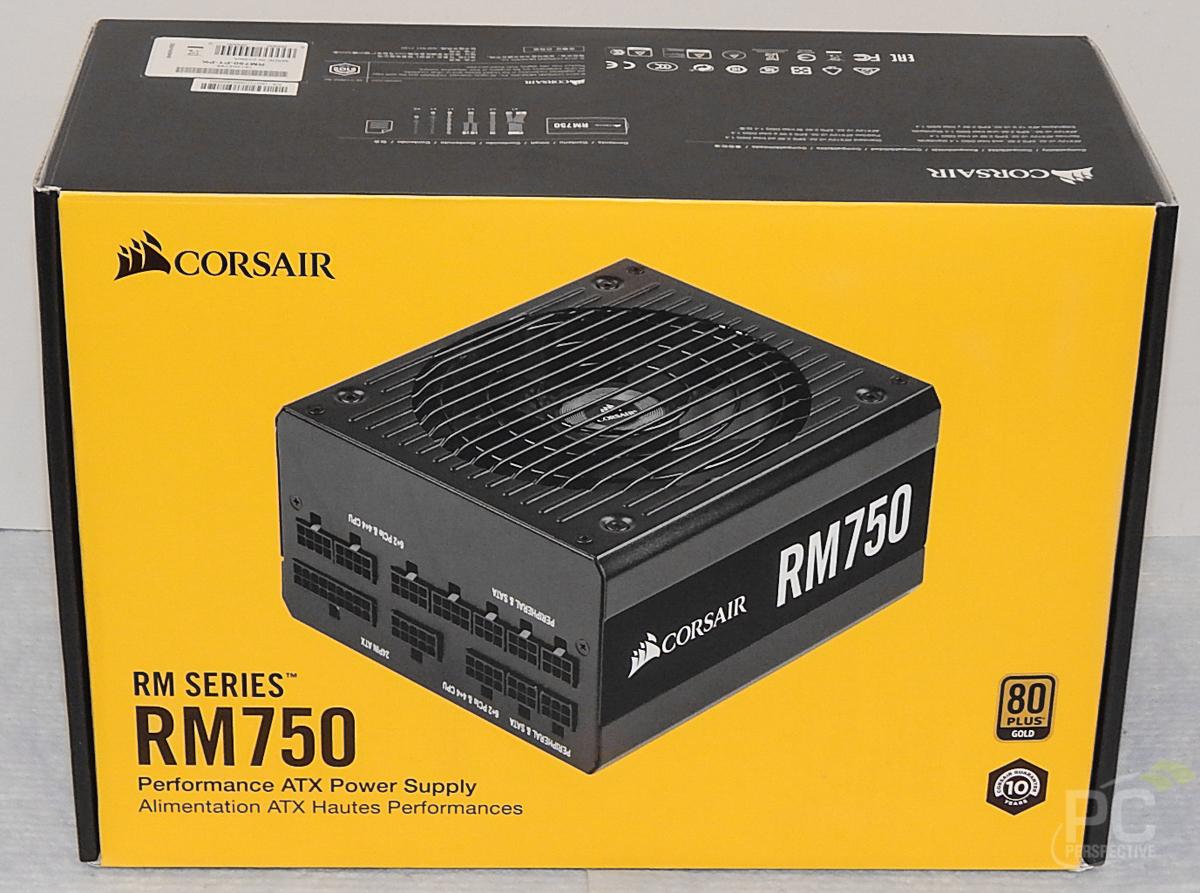 CORSAIR RM750 PSU Box Front