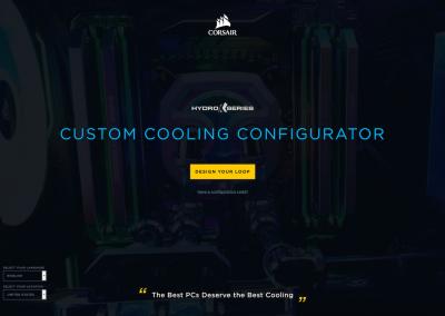 CORSAIR Hydro X Configurator 1
