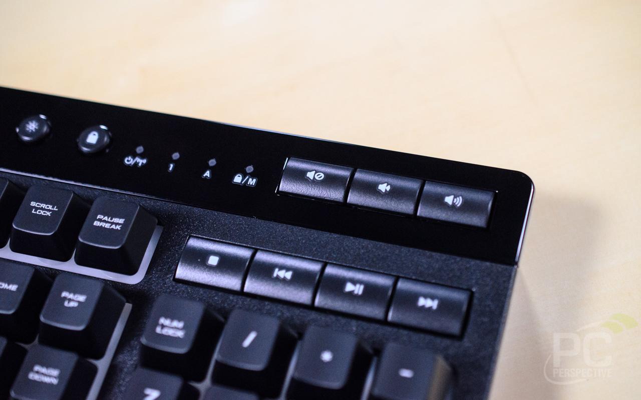 CORSAIR K57 RGB Wireless Keyboard Media