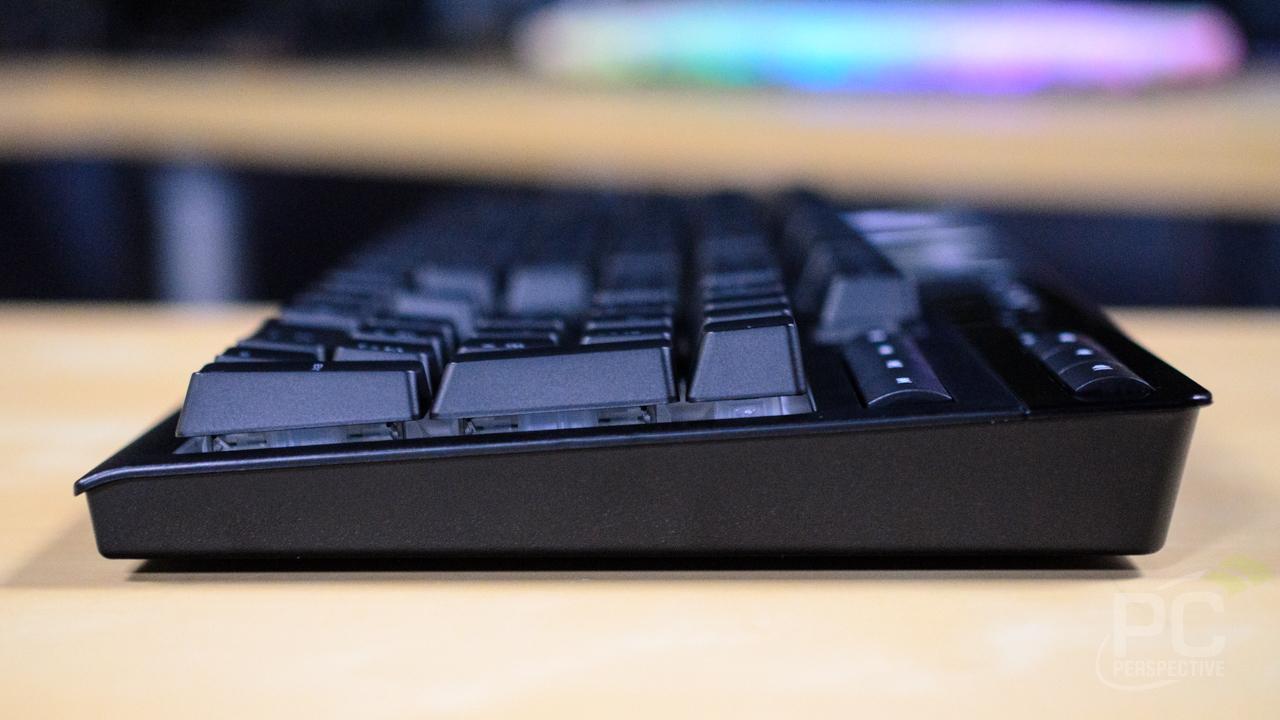 CORSAIR K57 RGB Wireless Keyboard Side