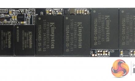 Kingston's KC2000 PCIe 3.0 NVMe Drive Arrives