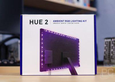 NZXT Hue 2 RGB Ambient V2 Box
