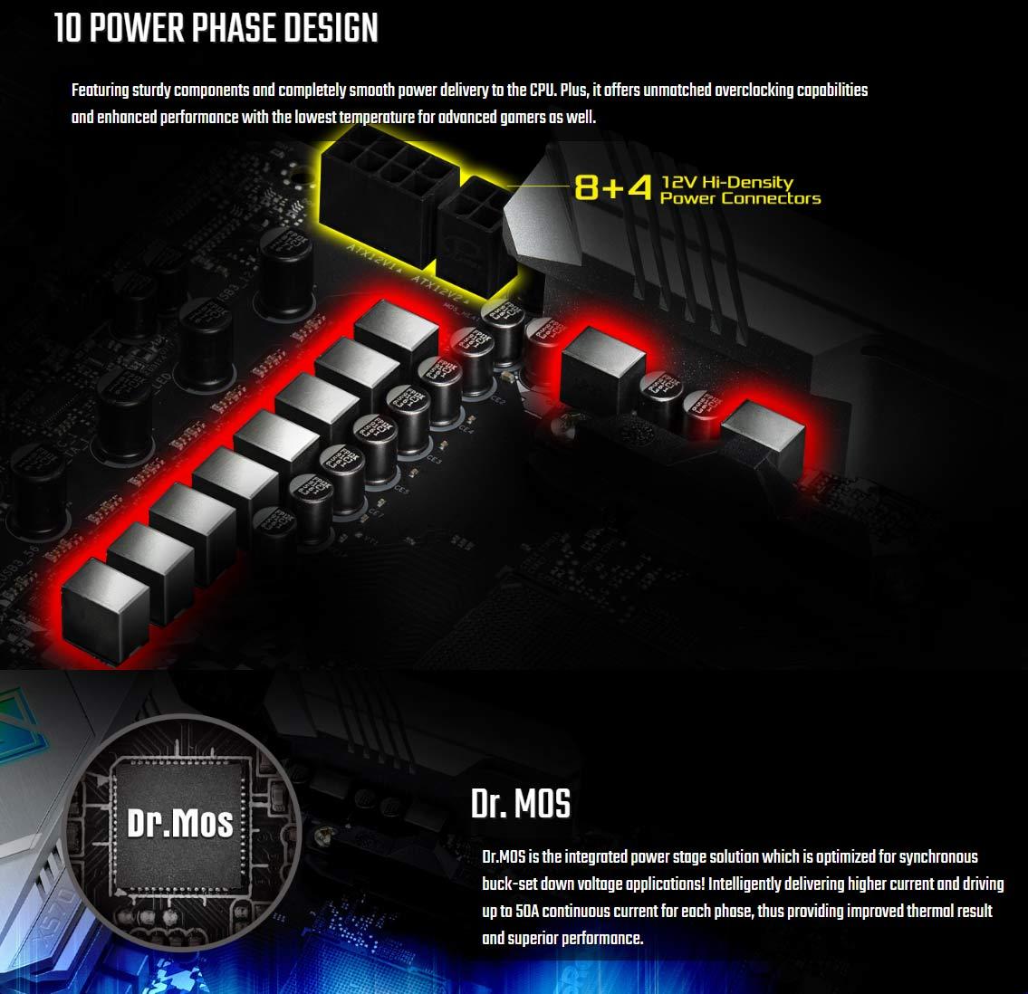 CPU Power Circuitry Detals