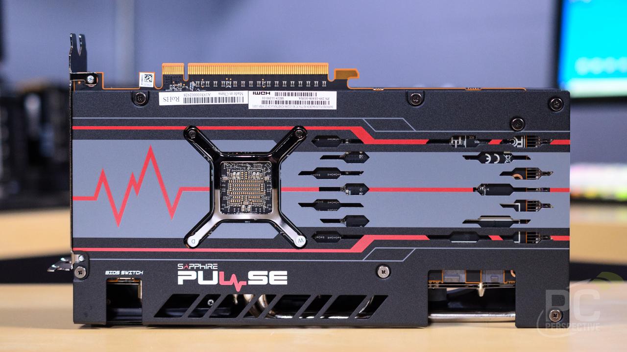 SAPPHIRE PULSE Radeon RX 5700 XT Card Back
