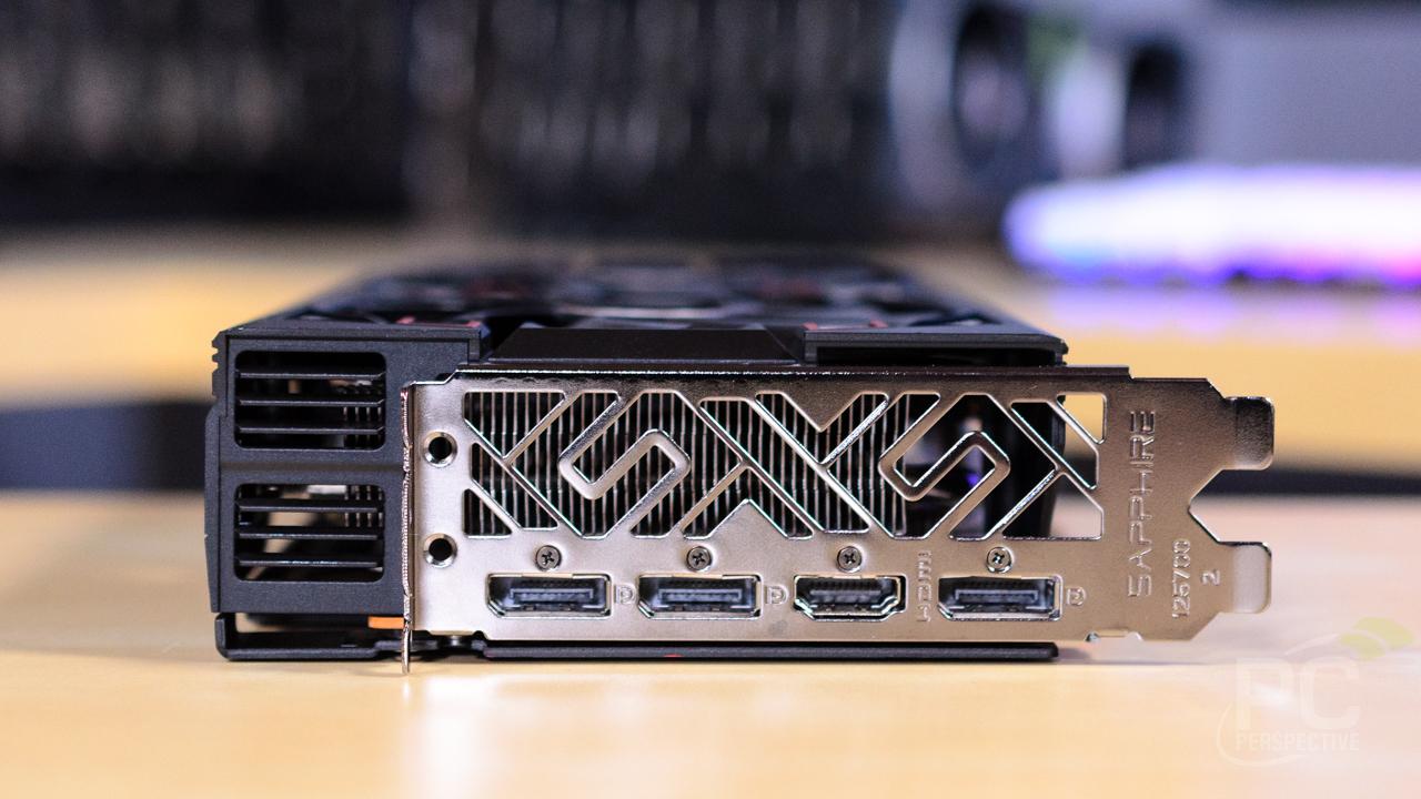 SAPPHIRE PULSE Radeon RX 5700 XT Card IO