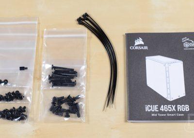 CORSAIR iCUE 465X RGB Hardware Kit