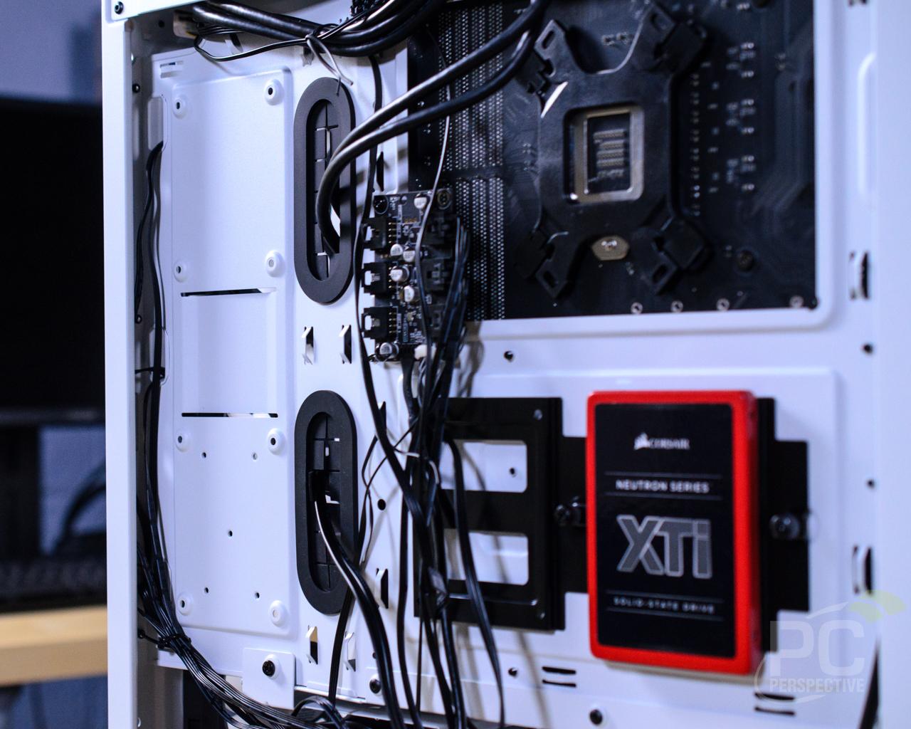 CORSAIR iCUE 465X RGB Rear SSD Mounts