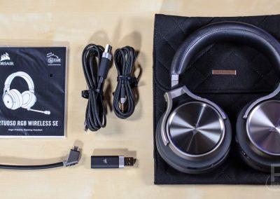 Corsair Virtuoso RGB Wireless SE Contents