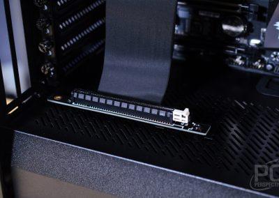 Fractal Vector RS PCIe Riser Installed