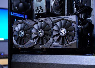 Fractal Vector RS Vertical GPU Install