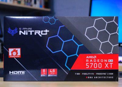SAPPHIRE Nitro Plus RX 5700 XT Box