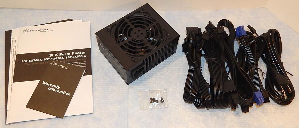 SilverStone SX700-G Box Contents