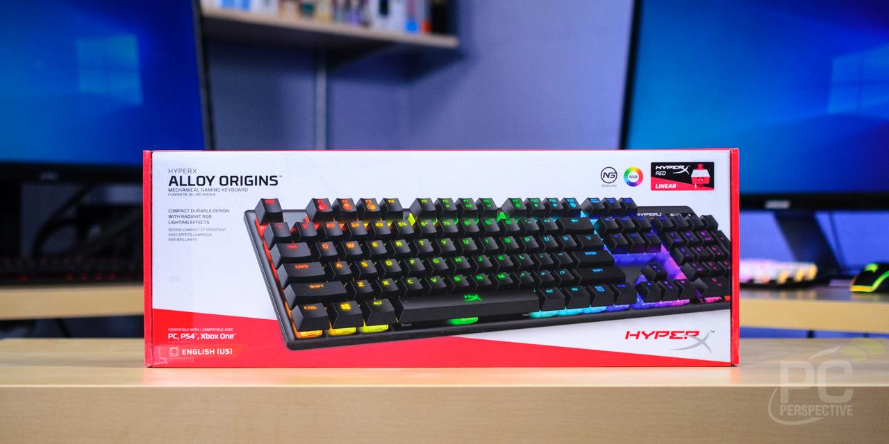 HyperX Alloy Origins Mechanical Keyboard Review: Aluminum and RGB - General Tech 16