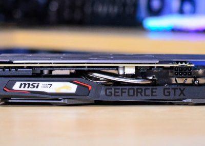MSI GTX 1660 SUPER Side