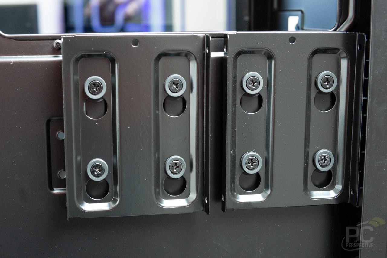 Phanteks Eclipse P400A SSD Mounts