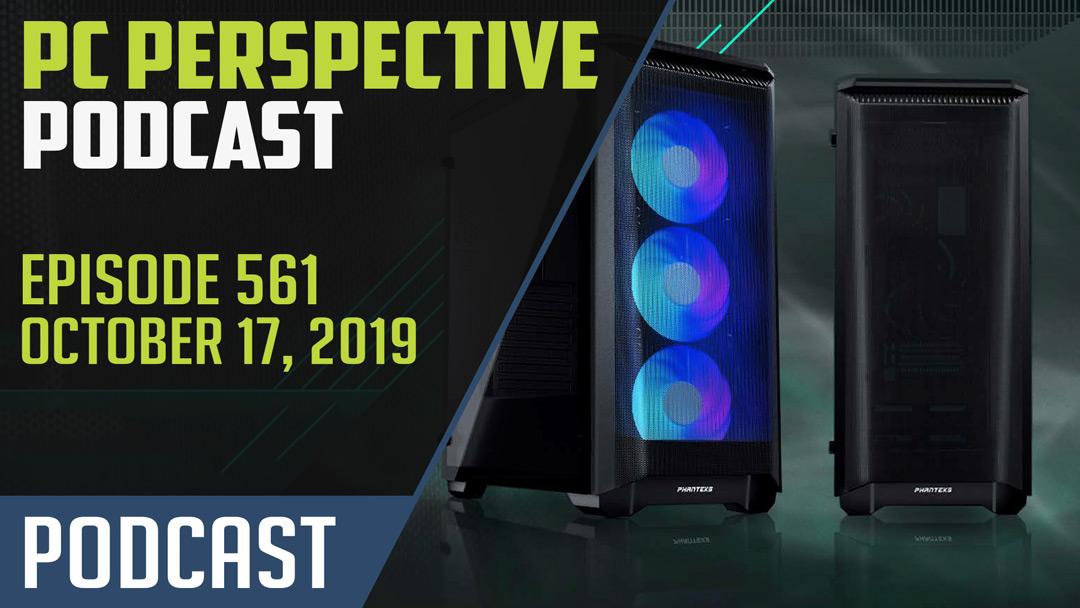 PC Perspective Podcast #561 – Intel 10nm Desktop Plans, EPYC Supercomputers
