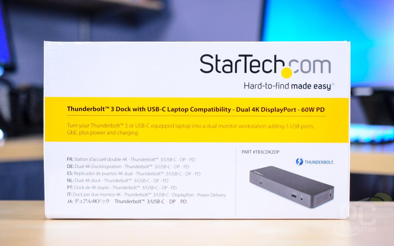 StarTech TB3CDK2DP Thunderbolt 3 Dock Review: Dual 4K60 Power - General Tech 14