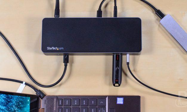 StarTech TB3CDK2DP Thunderbolt 3 Dock Review: Dual 4K60 Power