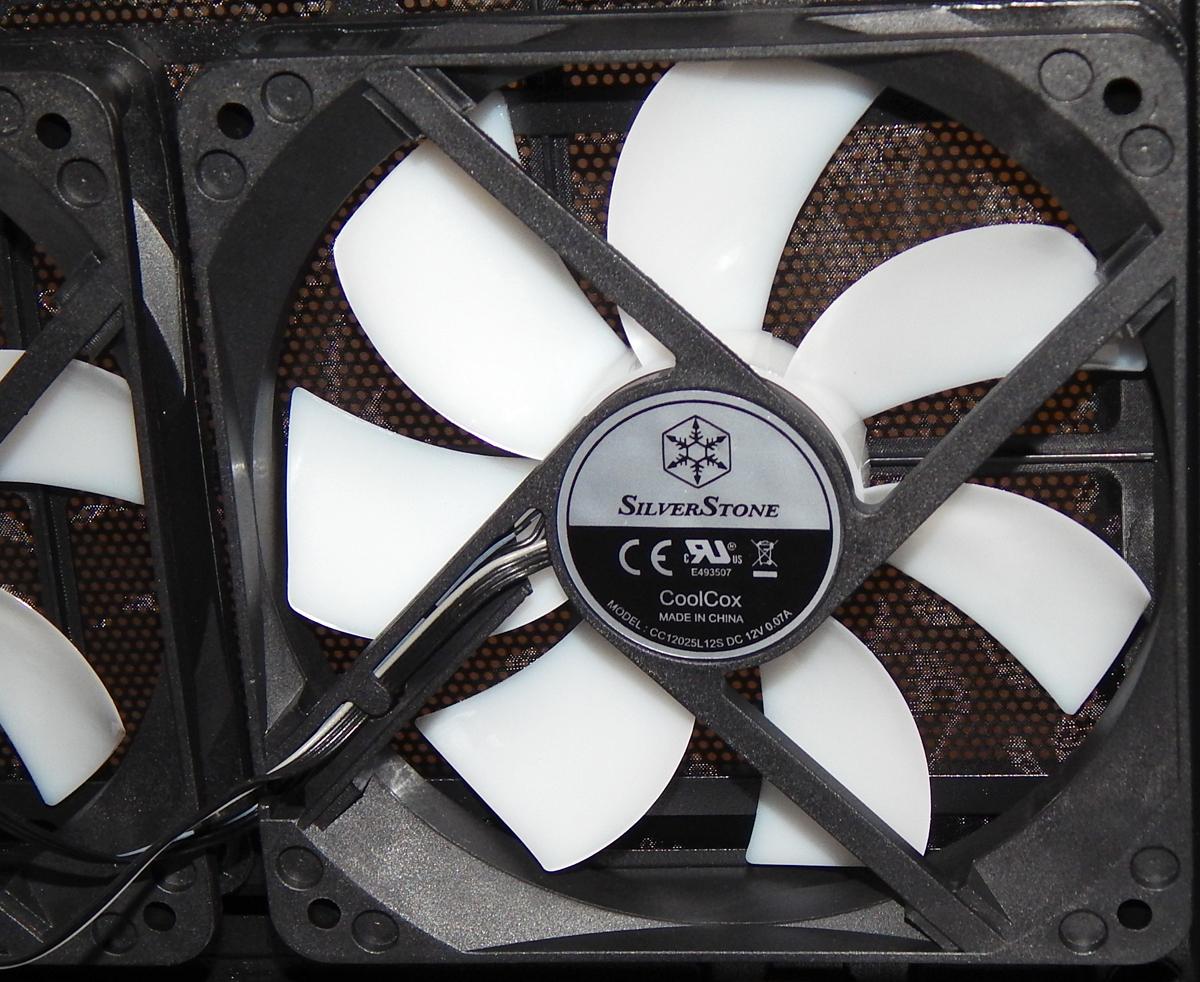 SilverStone RL08 120 Fan
