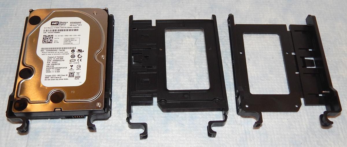 SilverStone RL08 HDD Trays